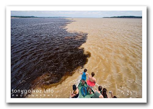 Encontro das Águas, Manaos