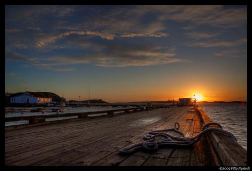 sunset sky clouds pier europa flickr sweden skandinavien himmel sverige scandinavia westcoast hdr bohuslän solnedgång moln västkusten orust greatphotographers hällevikstrand 202009