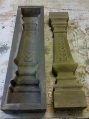 Moldes para balaustres piedra artificial - Moldes piedra artificial ...