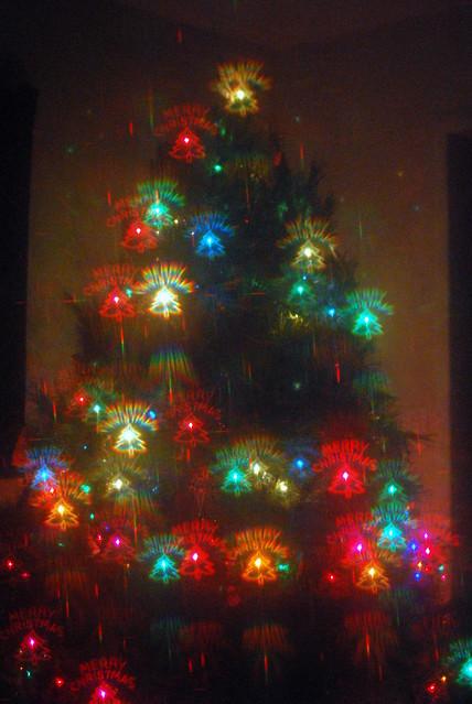Holographic Christmas Tree.Christmas Light Hologram Ideas Christmas Decorating