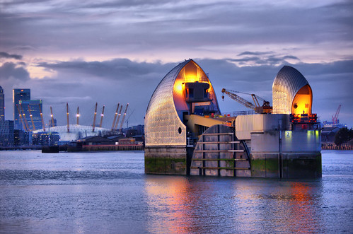 Thames Barrier & Millenium Dome