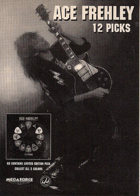 04-08-97 Ace Frehley 12 Picks CD Released (Ad)