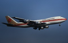 Continental Airlines Boeing 747-200