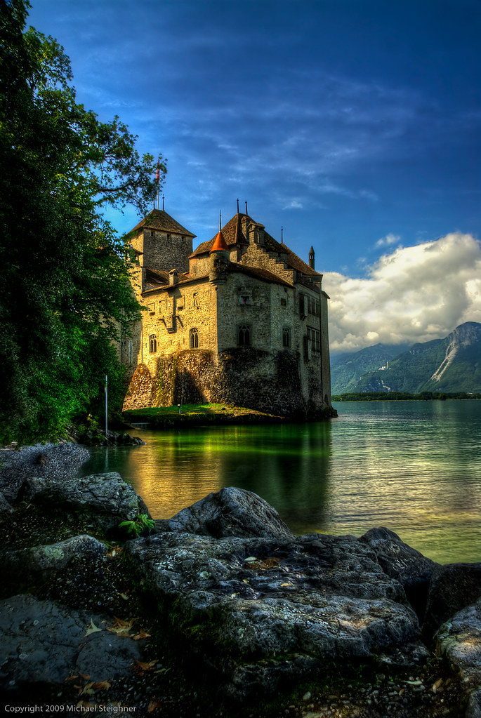 Castle Chillion by MDSimages.com