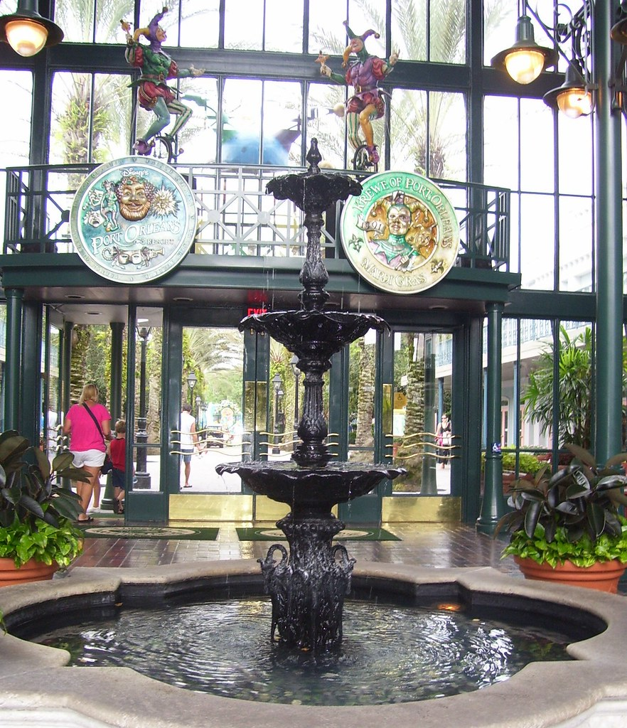 Port Orleans main entrance