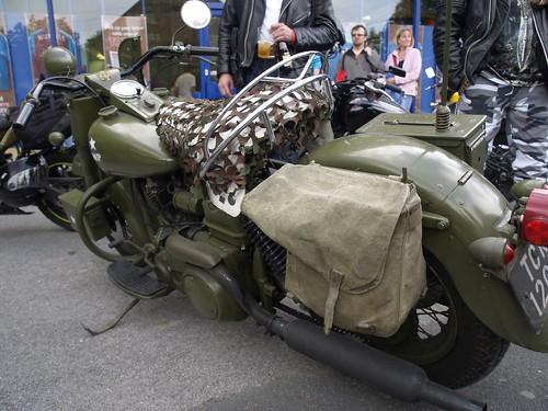 Harley-Davidson Army Bikes - 1976