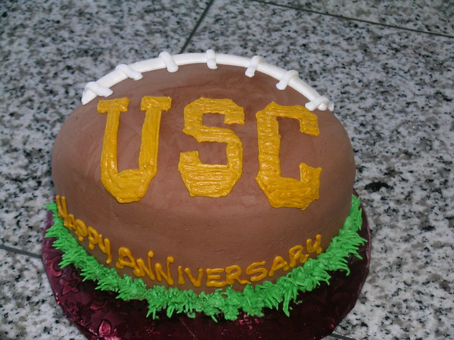Usc Birthday Cake Images : usc football cake Flickr - Photo Sharing!