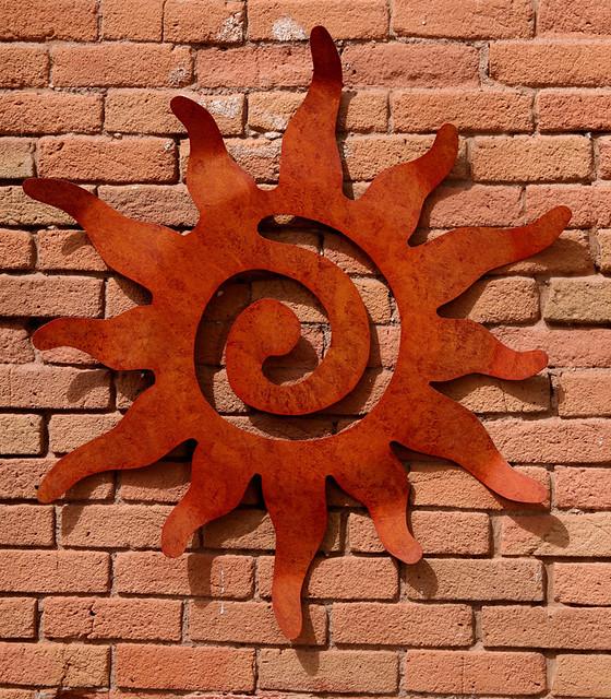 metal sun wall art flickr photo sharing