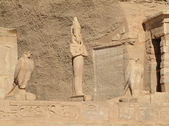 Temple of Ramesses II at Abu Simbel, Egypt