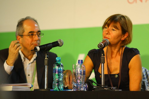 Frank Panucci (Australia) and Yvette Vaughan Jones (UK), 4th World Summit on Arts & Culture