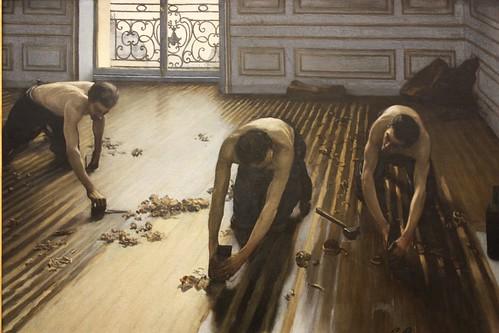 Les frotteurs en Museo de Orsay