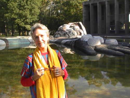 Marlene in Chapultepec Park