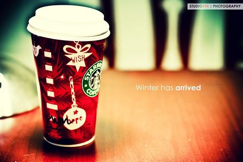 starbucks white peppermint mocha hbw afternoon frappuccino ilovestarbucks home nikon d80 nikkor 50mm f14g memphis tn color christmas thanksgiving newyear holiday season