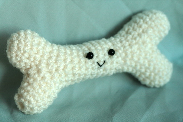 Free Crochet Pattern For A Dog Bone : Crochet dog bone Flickr - Photo Sharing!