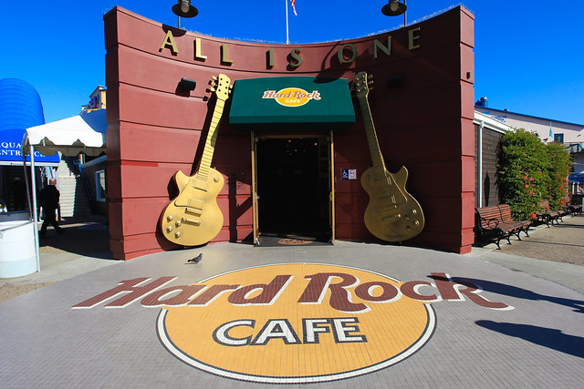 Hard Rock Cafe Fisherman S Wharf