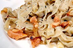 pasta salad, italian food, pappardelle, pasta, fettuccine, food, dish, carbonara, cuisine,