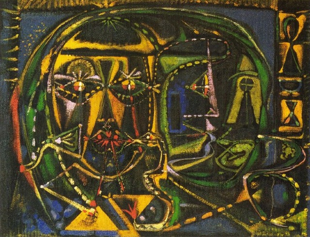 [ M ] André Masson - Optical Mirror (1942)