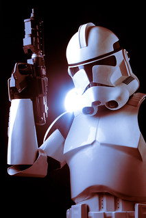Clone Trooper in phase II armor.