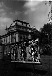 Alice Cooper posters at the National Theater, Zagreb