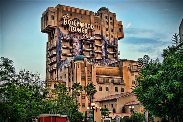 Disneyland Hollywood Tower of Terror