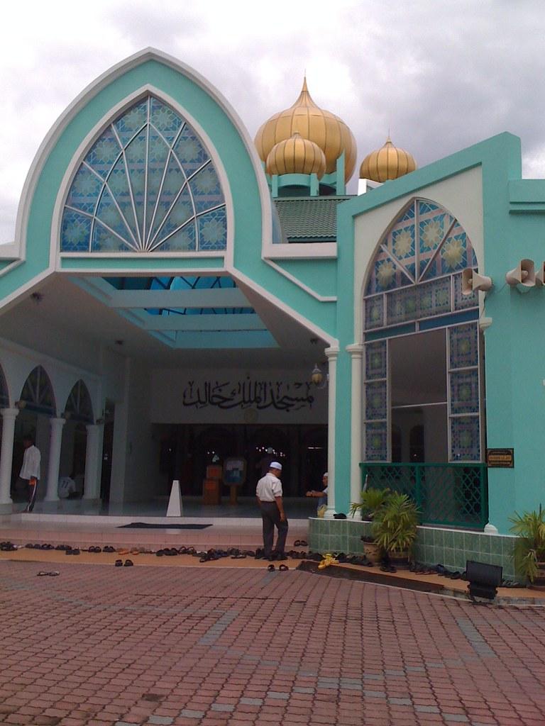 Solat Jumaat di Masjid Malik Al-Khalik, USM