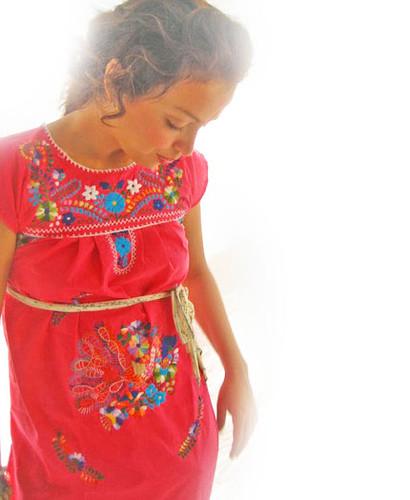 Vestidos Bordados Mexicanos