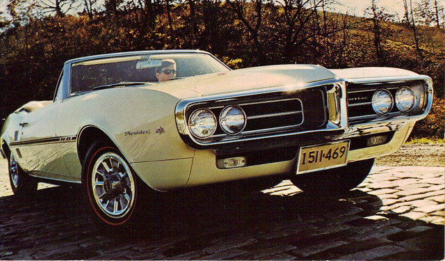 1967 Pontiac Firebird HO convertible
