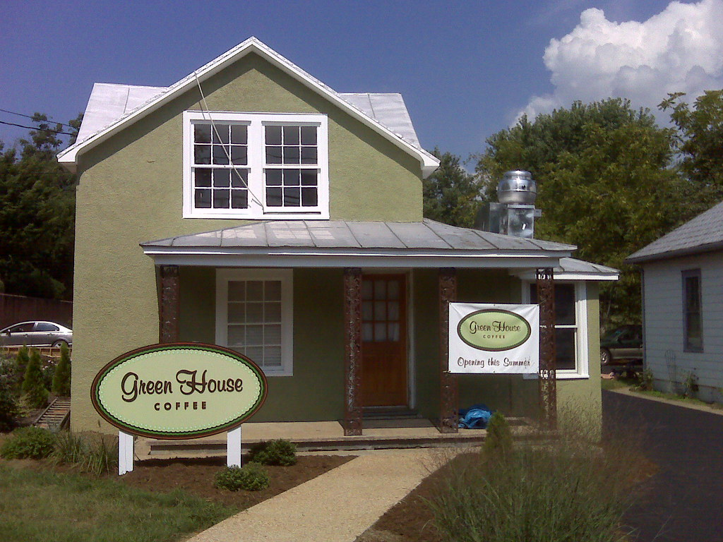 The greenhouse crozet - Greenhouse Coffee In Crozet Coming Along Well