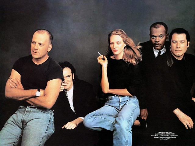 2. Tarantino Retrospective - Pulp Fiction Cast, 1994