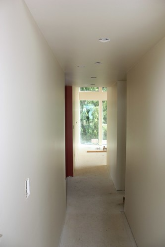 hall from office to bedroom