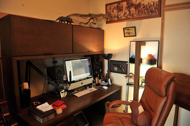 Man Cave Office : Man cave office flickr photo sharing