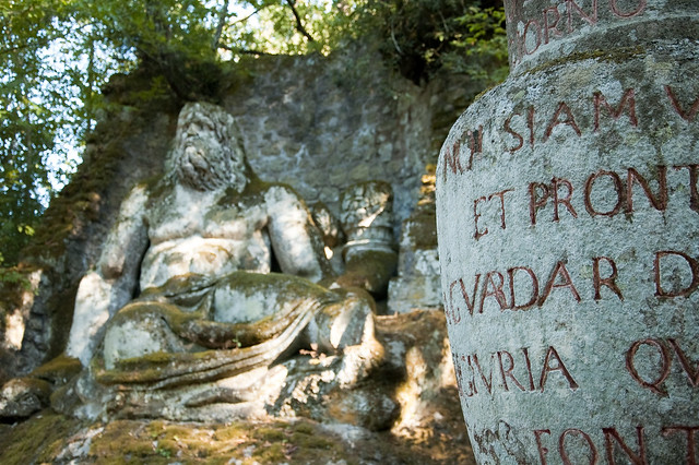 Weird Italy 3904317273_db5e1969b2_z Gardens of Bomarzo, Arcane Park of the Monsters Featured Italian History Magazine What to see in Italy  Viterbo Pier Francesco Orsini Park of the Monsters manieristic garden Lazio Garden of Bomarzo