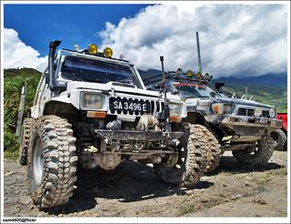 Pesta Kubis Kundasang 2009 - Kundasang 4x4 Challenge - Suzuki 4x4 SJ 2.4cc Turbo Diesel offroad