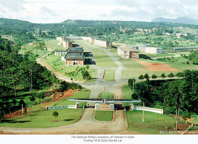 VBQG 4 The National Military Academy of Vietnam in Dalat