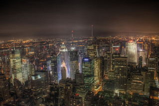 HDR - Times Square from Empire State Building 1