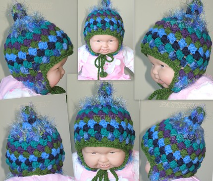 Cuffed Cutie Hat Crochet Pattern | Red Heart