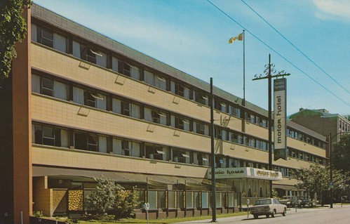 Wish You Were Hear Doric Howe Motor Hotel Vancouver