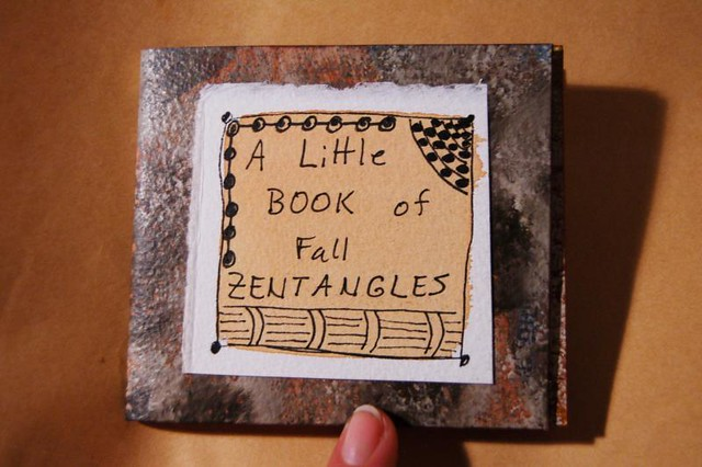 In the mail: Tiny Book of Fall Zentangles
