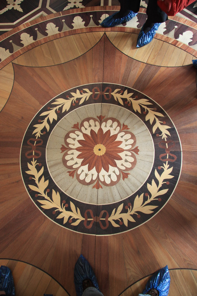 St. Petersbug Pavlovsk - Beautiful Parquetry Composition