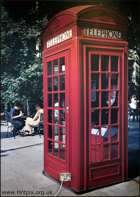 Telephone Box, Glasgow Airport (The World Is Not Always What It Seems)