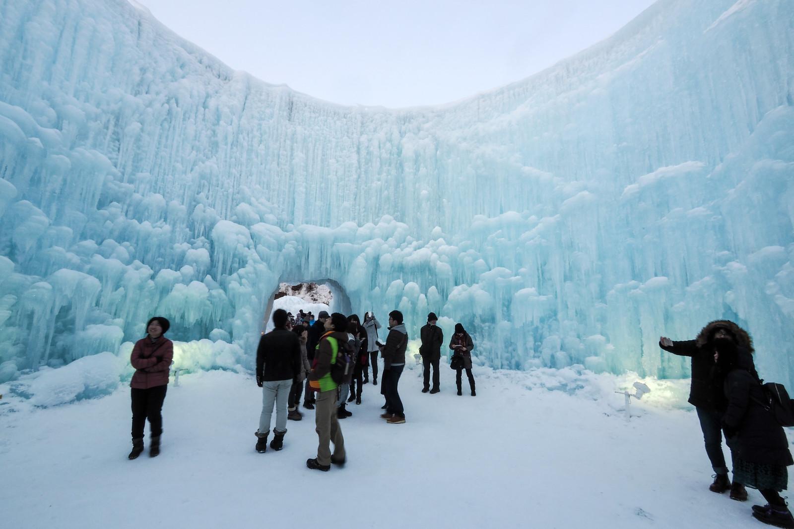 Lake Shikotsu Ice Festival (Hokkaido, Japan)