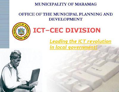 ICT DIVISION MARAMAG