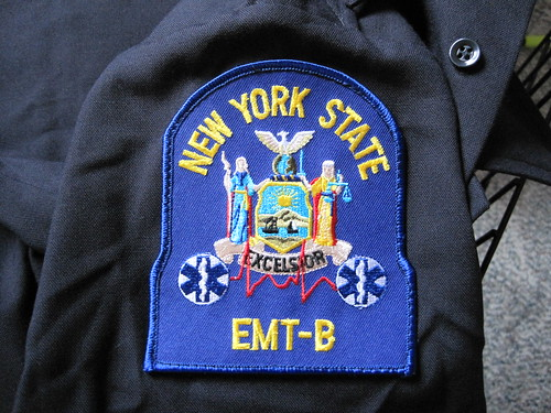 NYS EMT-B Patch