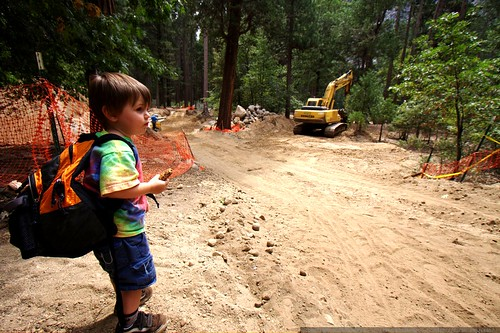 most people get upset when they see construction in yosemite valley    MG 4501