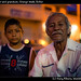 Tamales seller and grandson, Orange Walk, Belize