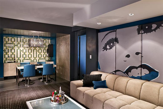 W hotel atlanta interior design by icrave color home - Affordable interior design atlanta ...