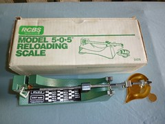 RCBS RELOADING SCALE - $80