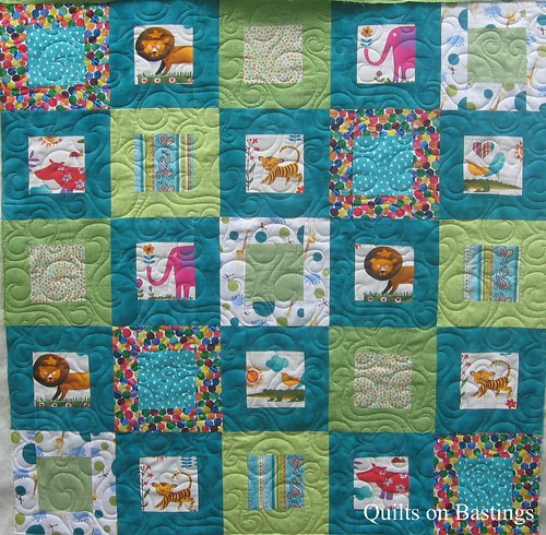 Baby Quilt Designs Free : Quilts on Bastings: Modern Baby Quilt