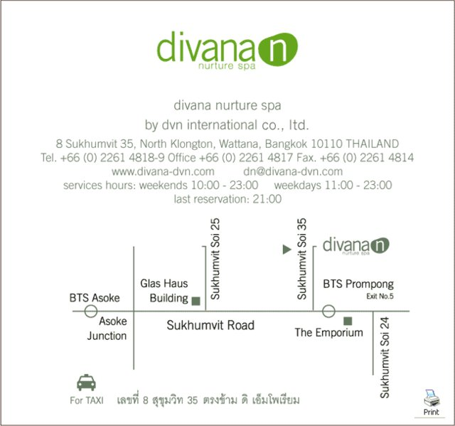 Spa divana nurture spa for Divana nurture spa