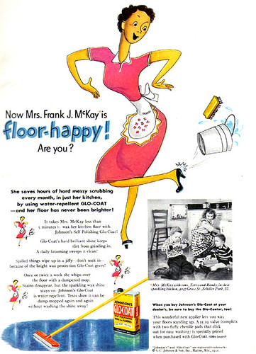 Vintage Ad #949: Come On, Come On, Get Floor Happy